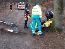 Mountainbiker gevallen door gladheid in Loonse en Drunense duinen