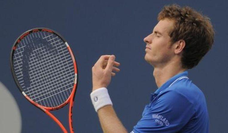 Andy Murray is in de vierde ronde van het US Open uitgeschakeld. ANP Beeld