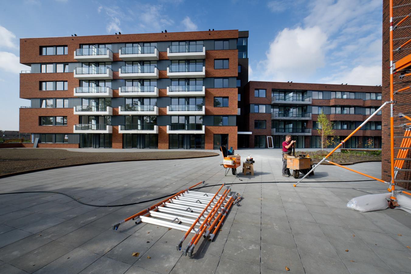 De nieuwbouw van Stuworld aan de Genestetlaan in het Willemskwartier.