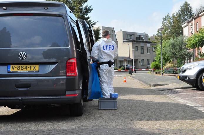 XTC-lab aangetroffen in Waalwijk.