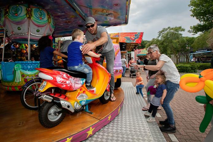 In De Rips was het afgelopen weekend nog wel genieten van de kermis.