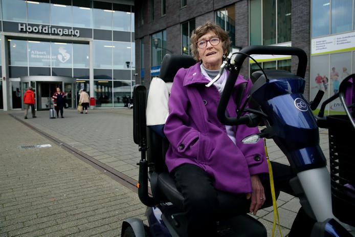 Sannie van der Net: ,,Ik leef nog dankzij dit ziekenhuis.''