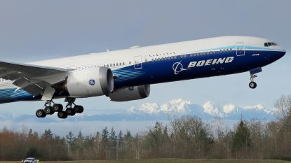 Boeing rondt eerste testvlucht met 777X af