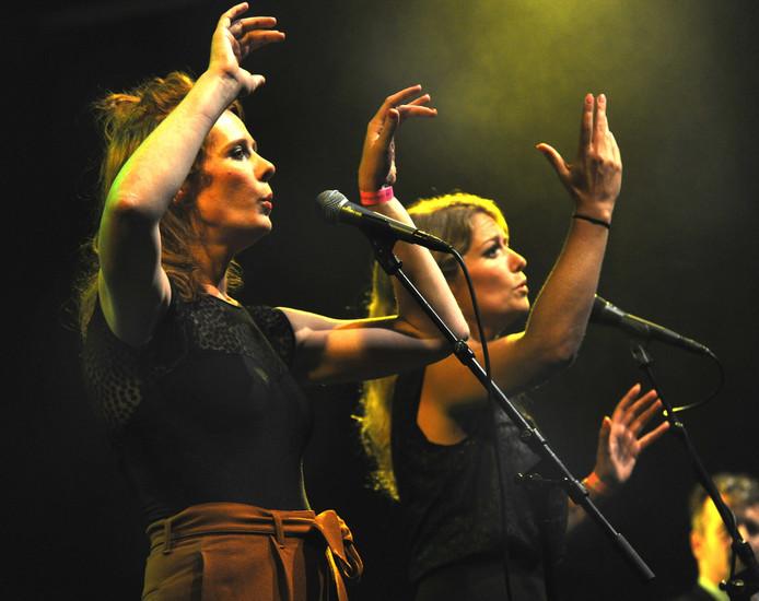 Christine de Boer (links) en Yentl Schieman.