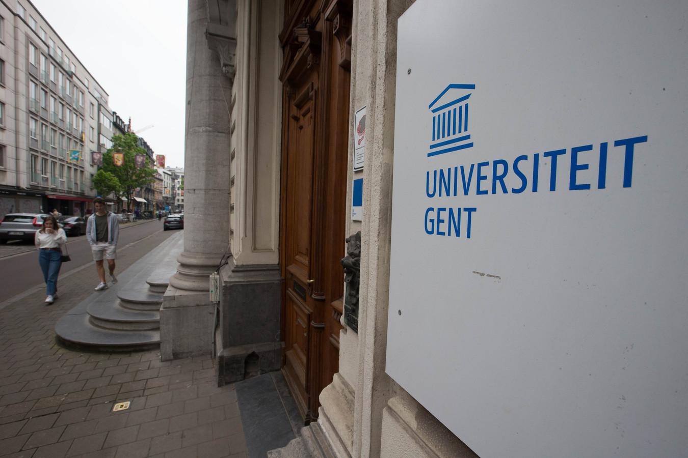 De Universiteit start volgende week in code oranje, zeker voor de eerste vier weken van het academiejaar. BELGA PHOTO NICOLAS MAETERLINCK