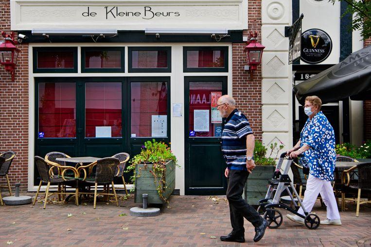 Café de Kleine Beurs is voorlopig gesloten.  Beeld Olaf Kraak