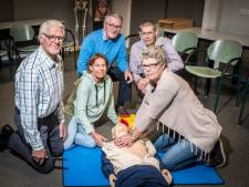 EHBO Rijsen 75 jaar: van oorlogsslachtoffers helpen tot  'ongelukkige' marktbezoekers bijstaan