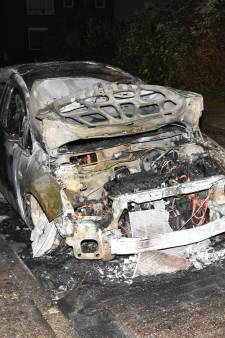 Auto uitgebrand in Clinge