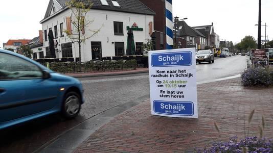 De actiegroep Schaijk bij Oss mobiliseert de inwoners.