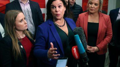 Fianna Fáil blijft Sinn Féin één zetel voor in Iers parlement