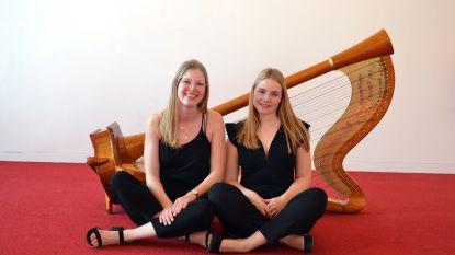 Nieuw harpduo geeft optredens