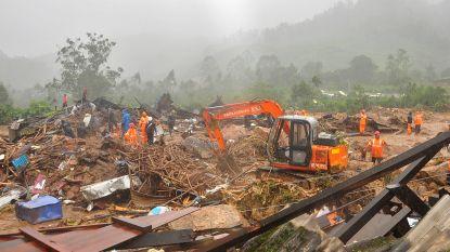Doden door aardverschuiving op theeplantage in India