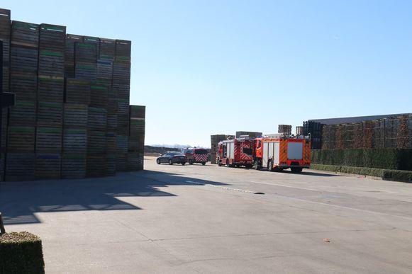 De hulpdiensten kwamen meteen ter plekke op de plaats van het ongeval.