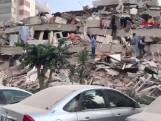 Dodental zware aardbeving bij Turkije blijft oplopen