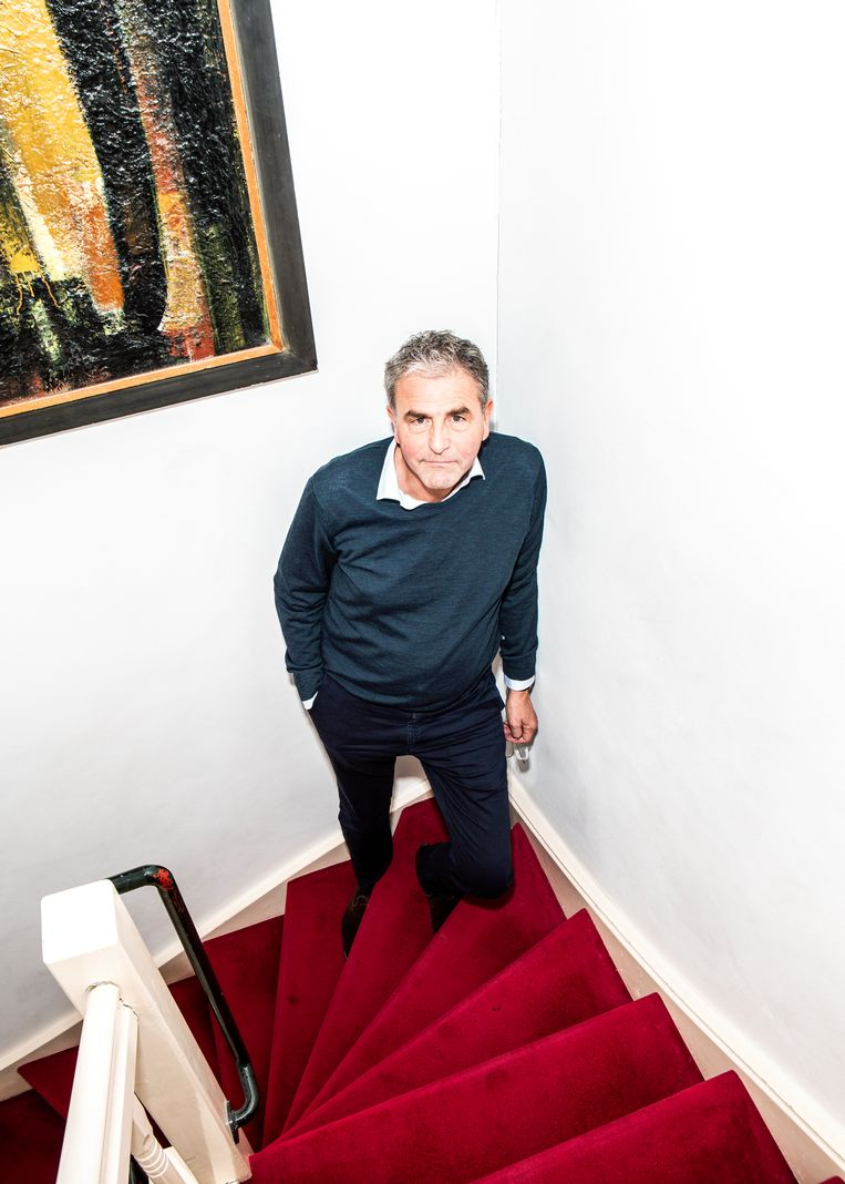 Jens Christian Grøndahl: 'Het leven is eenvoudiger zonder sociale media.' Beeld Hilde Harshagen