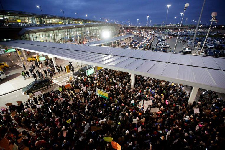 Luchthaven JFK in New York Beeld epa