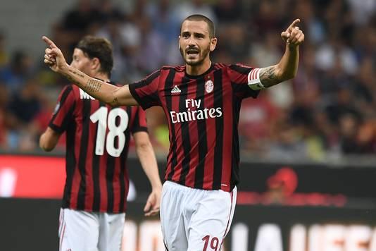 AC Milan-captain Leonardo Bonucci.