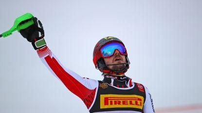 Hirscher verovert opnieuw slalomwereldtitel, podium is volledig Oostenrijks