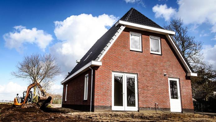 Aardbevingsbestendige nieuwbouw in Groningen.