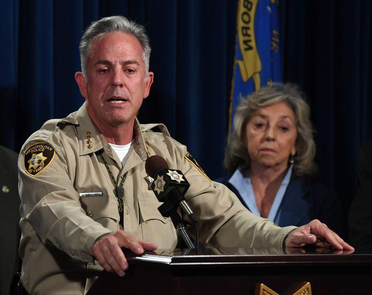 Joseph 'Joe' Lombardo, sheriff van Las Vegas.