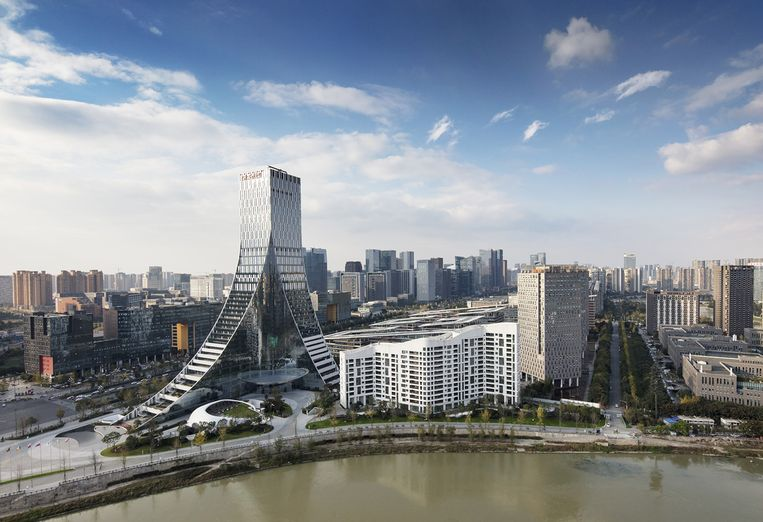 Icon Yunduan Tower, PES-Architects