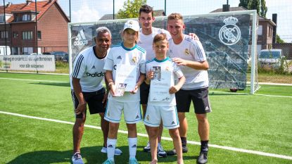 Daniel gehuldigd als beste speler op voetbalkamp Real Madrid