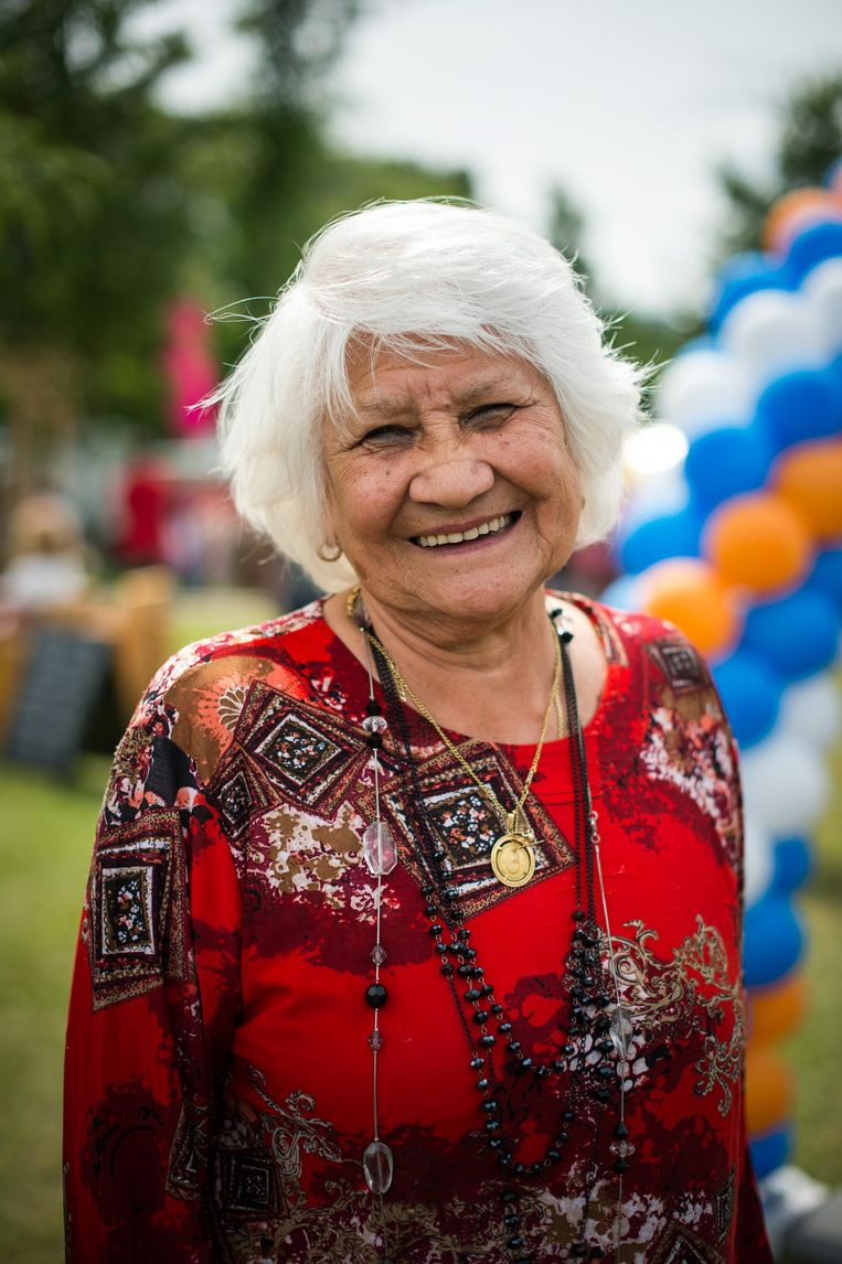Vera Gomes, 85 jaar oud. Beeld Mats van Soolingen
