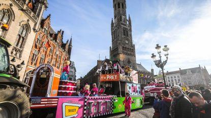 Kleurrijke carnavalsstoet trekt door binnenstad