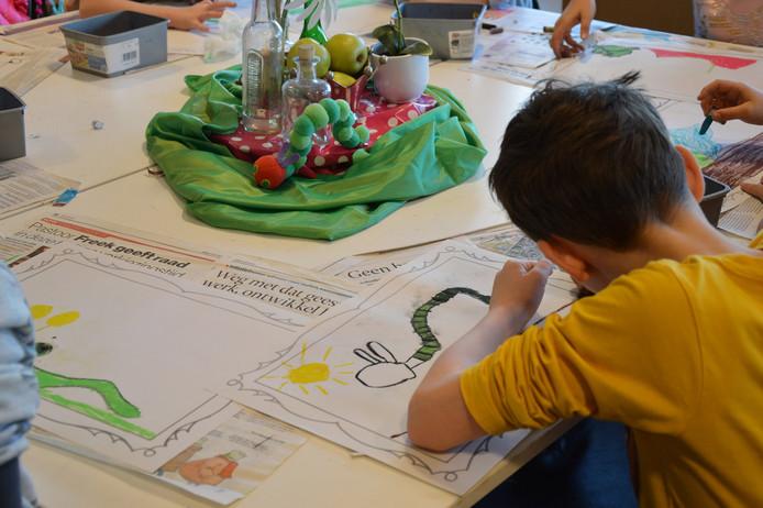 Kunstlocatie  @Kunstlocatie 5 u5 uur geleden Meer Het educatieprogramma van Kunstlocatie Würth is al jaren succesvol! Gisteren en vandaag bezochten leerlingen van BS De Toermalijn uit Heesch het museum. Prachtige kunstwerkjes gemaakt! Bedankt voor jullie komst! #obsdetoermalijn #kinderen #kunst #educatie