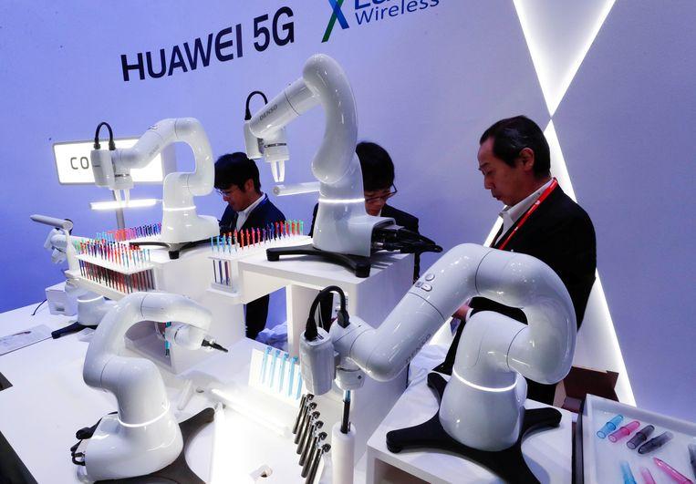 """5G-netwerk Huawei vergroot risico op spionage: """"We laten ..."""