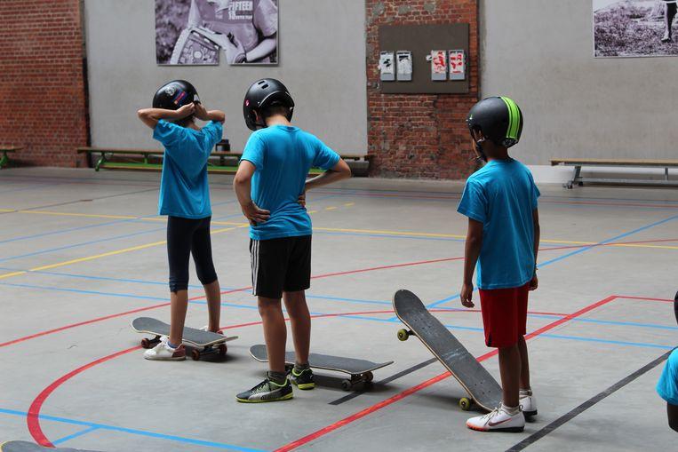 Sportpret vzw organiseert sportdagen en -kampen voor kansarme kinderen.