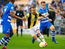 Twee duels schorsing Büttner van Vitesse voor rood tegen PEC