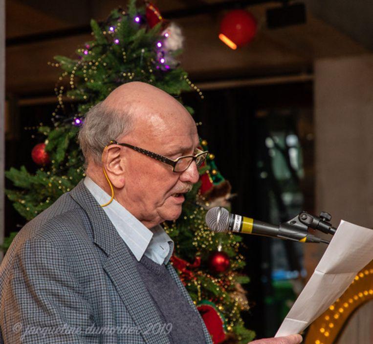 Machar Van Geyt las in januari nog zijn wensen voor Gent voor op 'Speakers Corner, de Mooiste Nieuwjaarsgroet'.