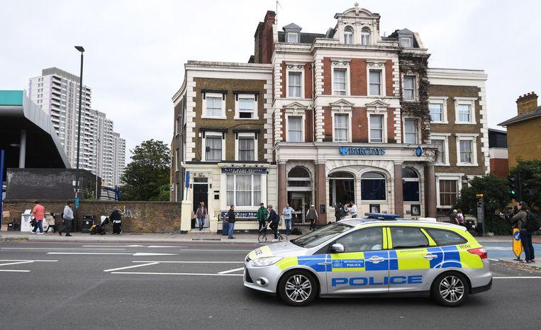 Het City Stay hotel in Londen waar de twee verbleven.