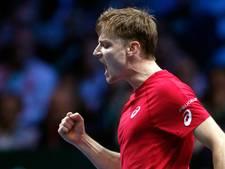 Goffin bezorgt België voorsprong in Davis Cup-finale
