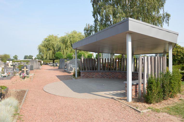 Het kerkhof van Haaltert.