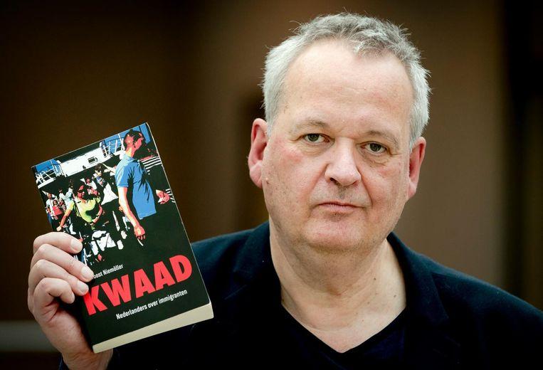 Joost Niemoller, auteur van het boek Kwaad, Nederlanders over immigranten. Beeld anp