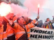 Frankrijk zucht onder eerste stakingsdag deze lente