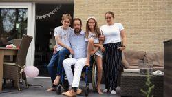 """MS-patiënt Jan Heremans (37) is na 3 jaar eindelijk verhuisd, maar is wel Leuvenaar af: """"Ik moest helaas mijn dierbaarste bezit verkopen voor een aangepaste woning"""""""