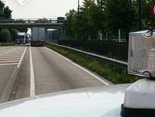 N279 dicht bij Veghel na ongeluk