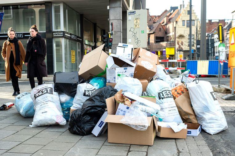 Donderdag wordt het vuilnis niet opgehaald.
