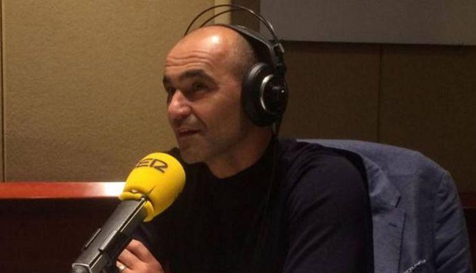 """Roberto Martinez était l'invité d'""""El Larguero"""" sur la """"Cadena SER"""""""
