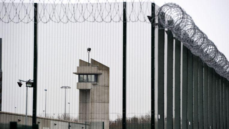 De gevangenis in Sequedin. Beeld AFP