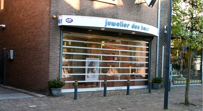 De juwelier in Bleiswijk.