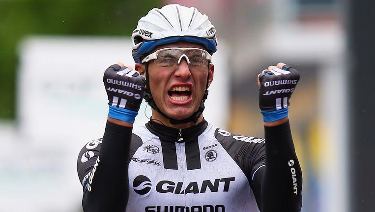 Marcel Kittel pakte in Belfast zijn eerste en waarschijnlijk niet zijn laatste ritzege in deze Giro.