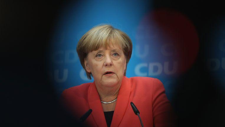 Bondskanselier Angela Merkel Beeld getty