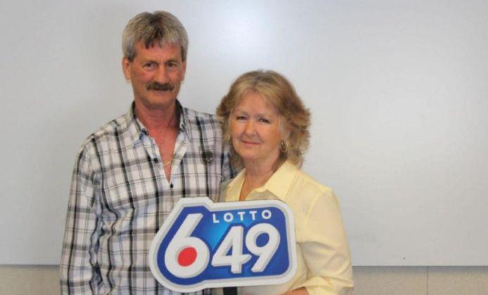 Het echtpaar raadde de zes cijfers van het winnende getal goed.