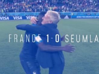 """Belgische vlag krijgt voor Fransen na uitlatingen Rode Duivels andere betekenis: """"Frankrijk - Frustratieland: 1-0"""""""