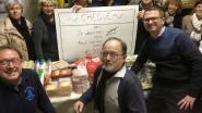 Supporters White Star schenken 350 euro aan voedselbedeling Kerit
