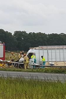 A1 bij Hengelo weer open na ernstig ongeval